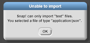 It needs to be easier to import to a variable · Issue #1647