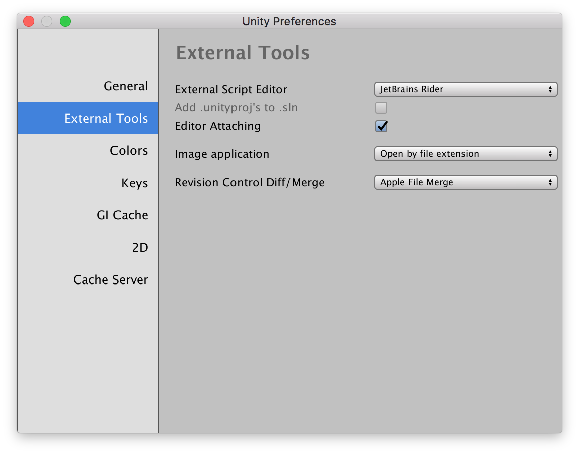 Rider does not install plugin into Unity Project, no `sln