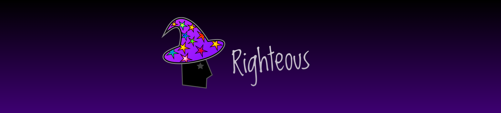 Righteous Title Logo