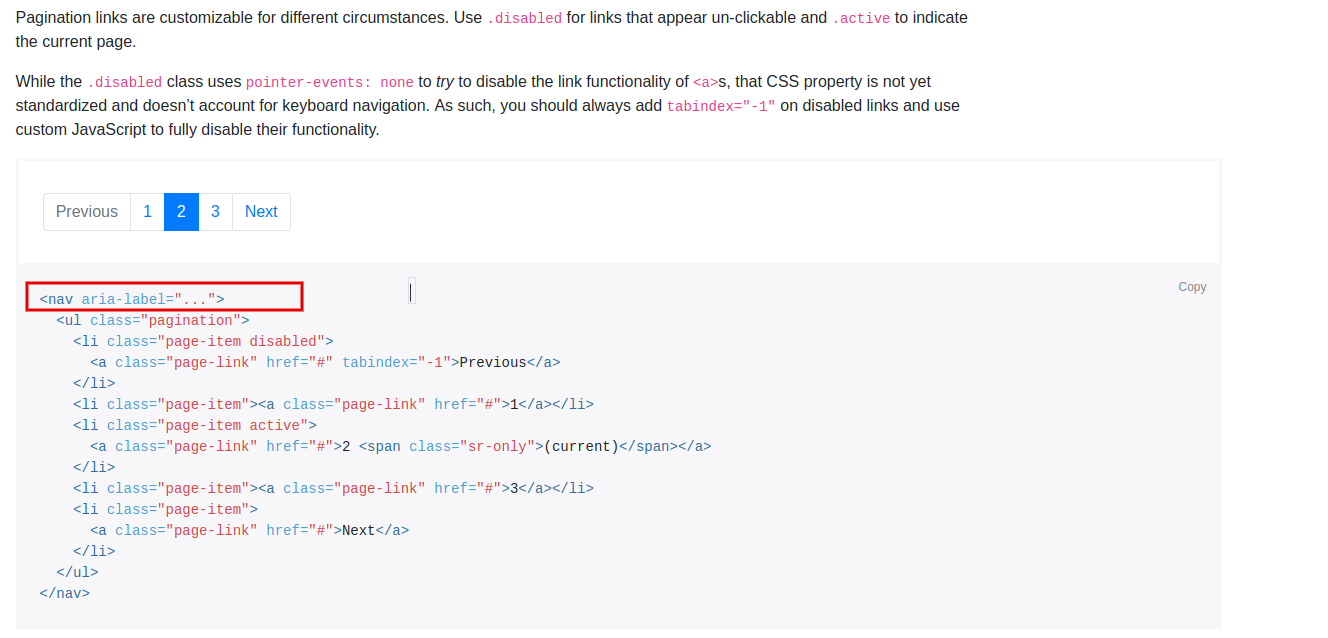 docs(pagination): add demo with an ability to change aria