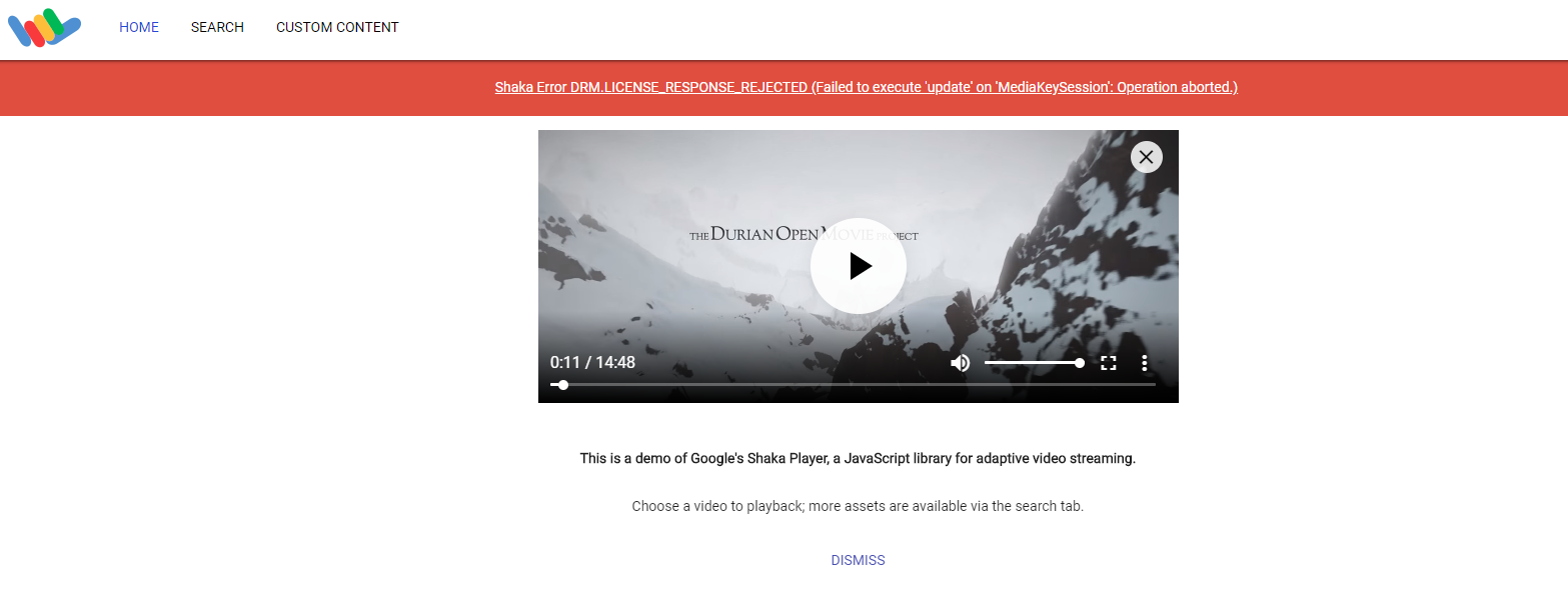 Some chrome play DRM streams reported