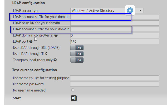 Active Directory authentication not working on fresh