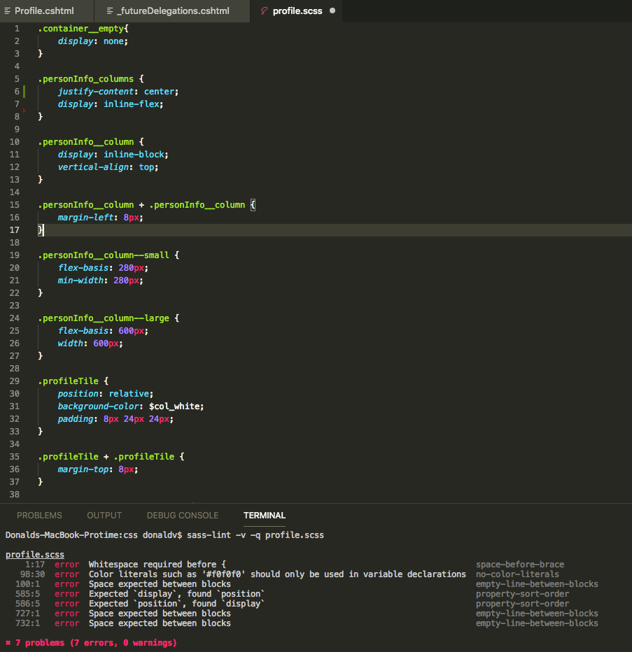 Cant get it to run · Issue #23 · glen-84/vscode-sass-lint · GitHub