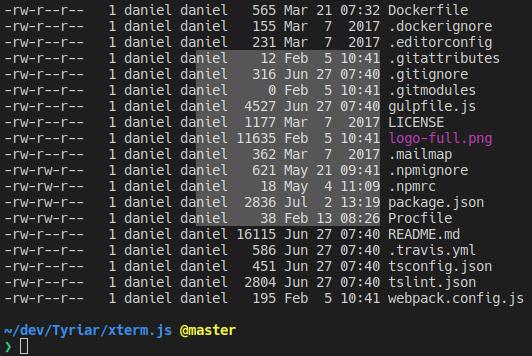 Xterm js – 完整的浏览器终端支持输入法和身体滚动 - JavaScript开发