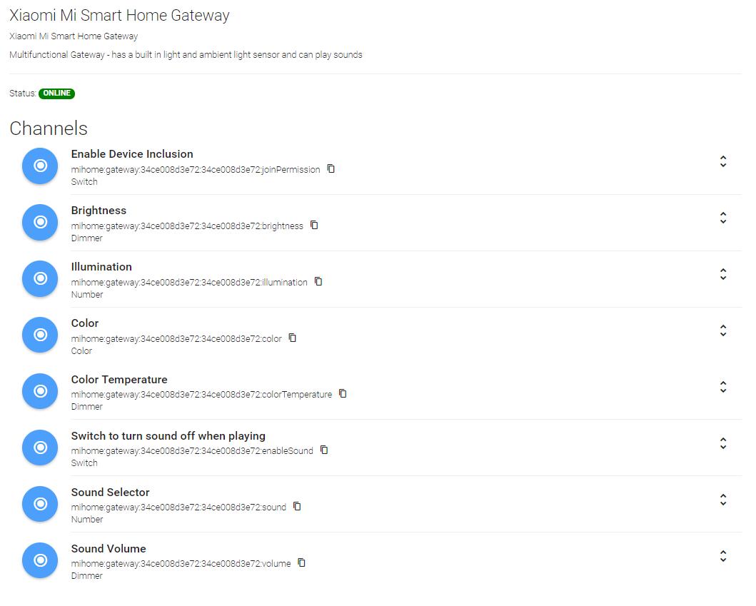 Xiaomi Mi Smart Home Gateway - Error when trying to play