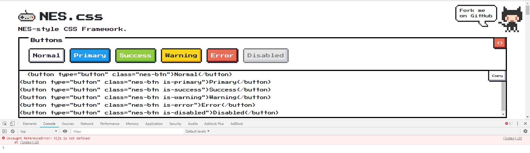 Bug: Highlight js not loading sometimes in index html (docs