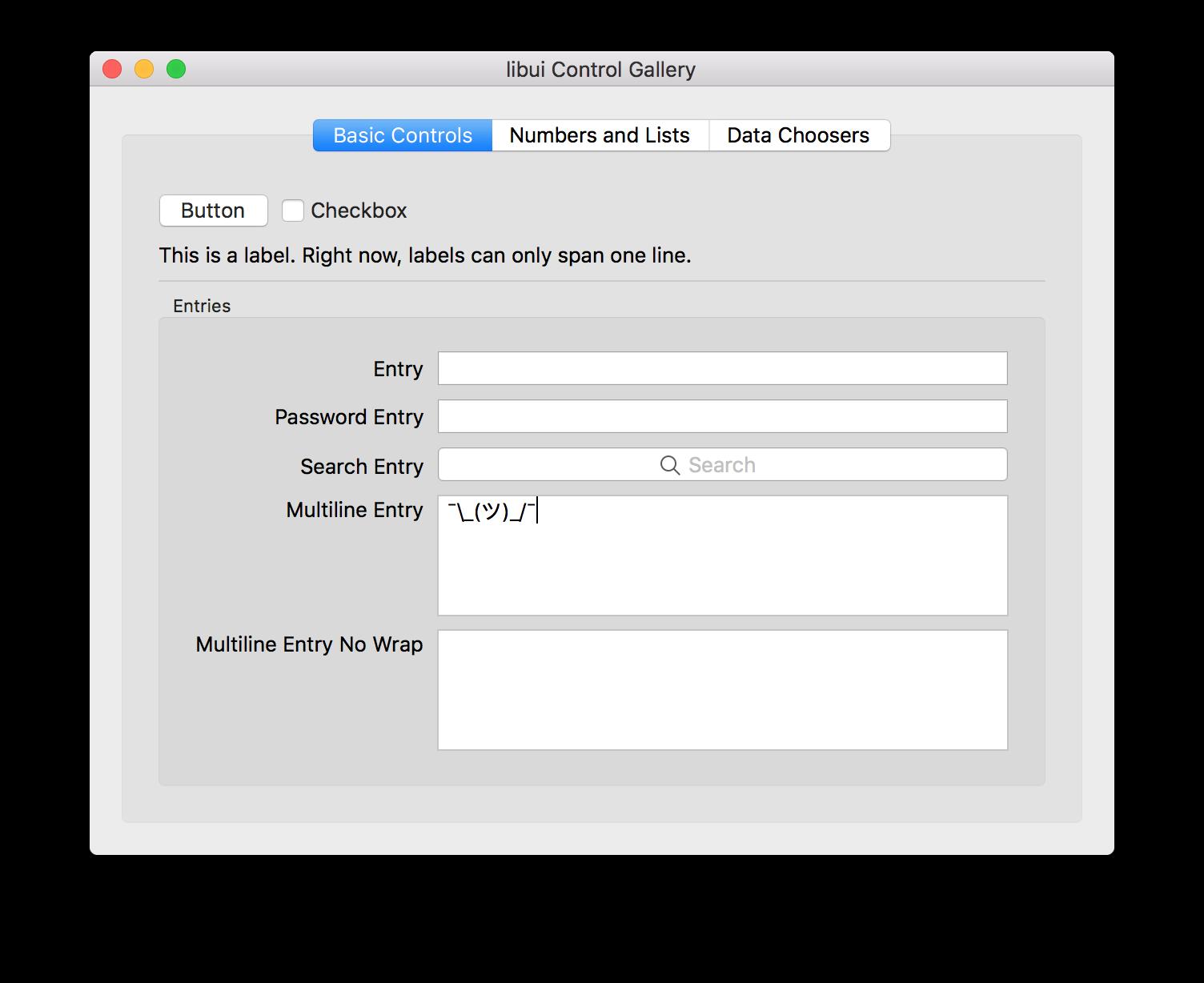 Libui 是一个简单、轻便,灵活的 GUI 库 - C/C++开发 - 评论