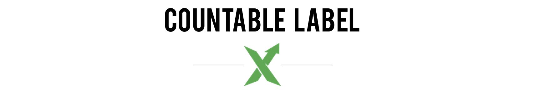 Countable Label Logo