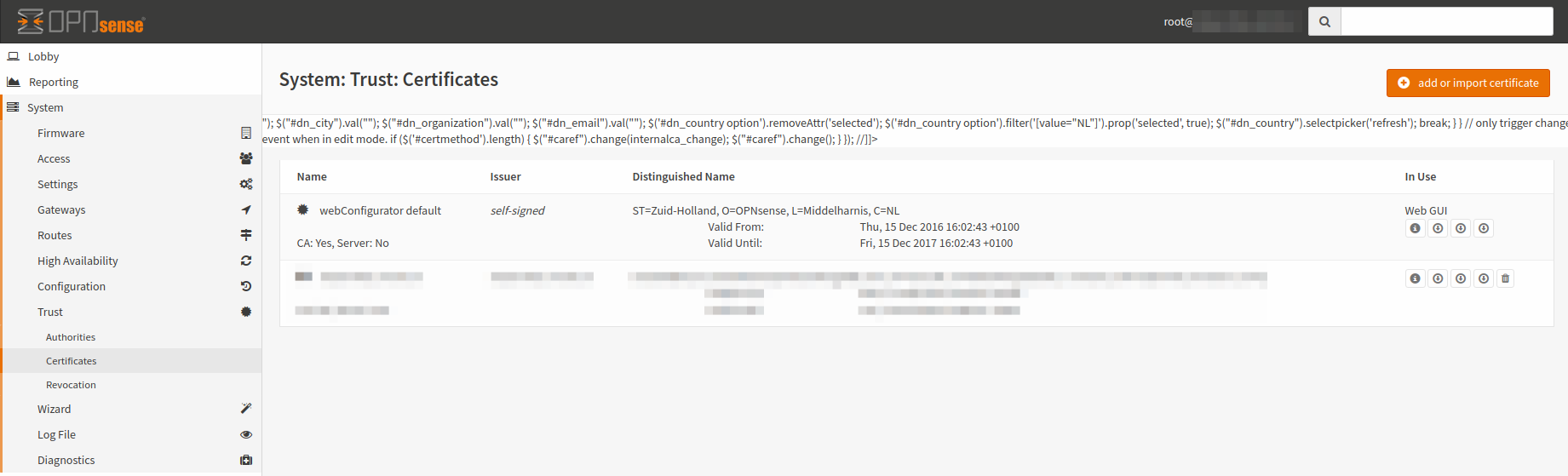 Xss in custom root certificate issue 1964 opnsensecore github adding a certificate over there 1betcityfo Image collections