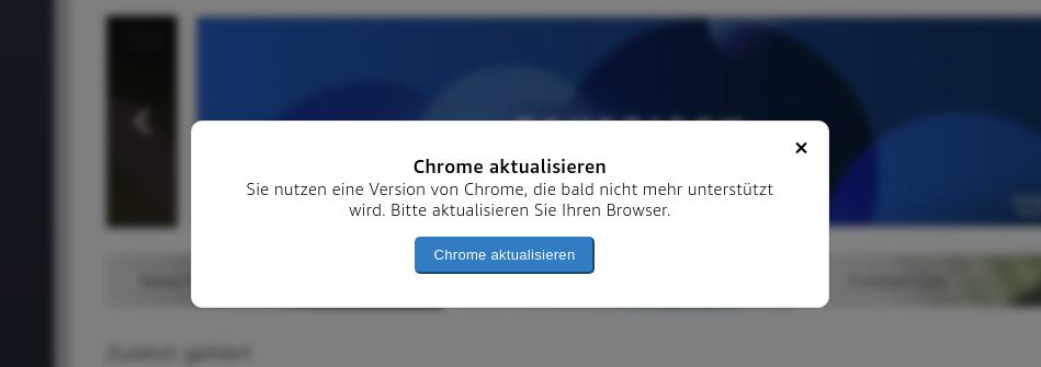 Update Chrome