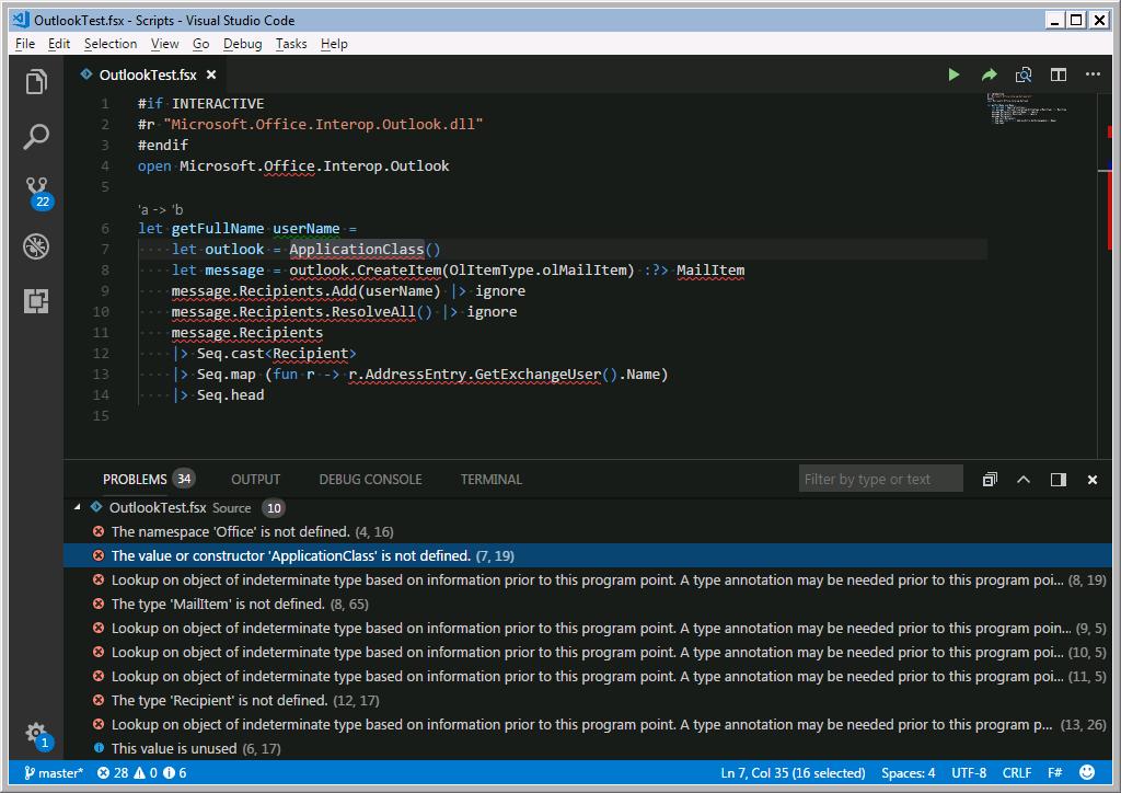 IntelliSense doesn't work for Office interop assemblies