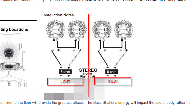 Miraculous Need Help With Bass Shakers Configuration Wiring Issue 327 Wiring Cloud Tobiqorsaluggs Outletorg