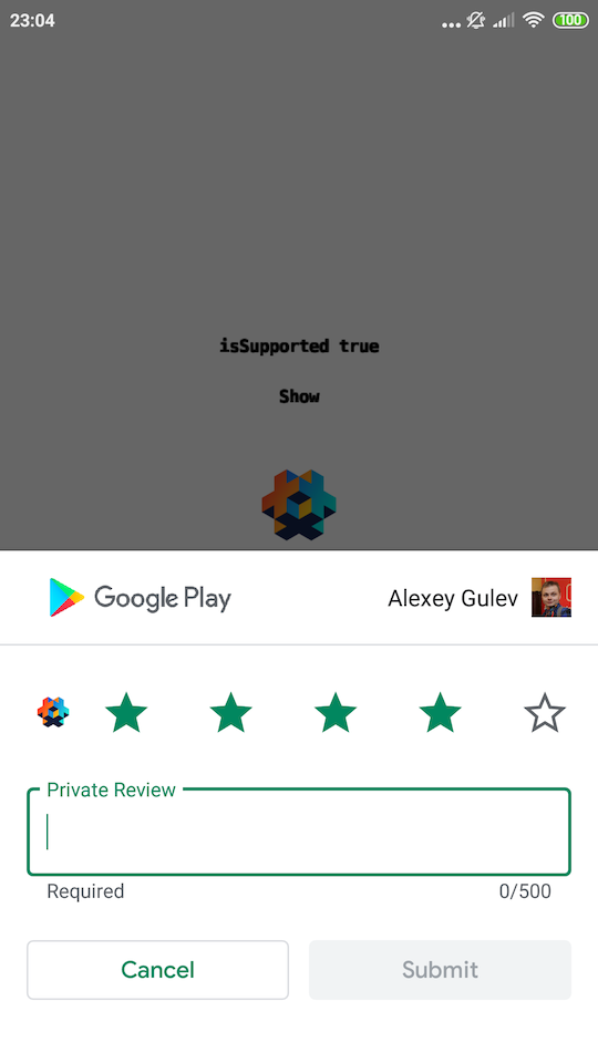 Screenshot android