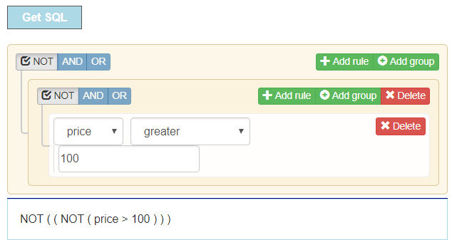 Negation doubled when using setRulesFromSQL · Issue #687