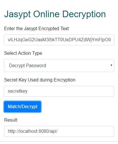 How to avoid decryption? · Issue #93 · ulisesbocchio/jasypt