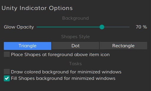Add a slider for the background glow · Issue #4 · psifidotos