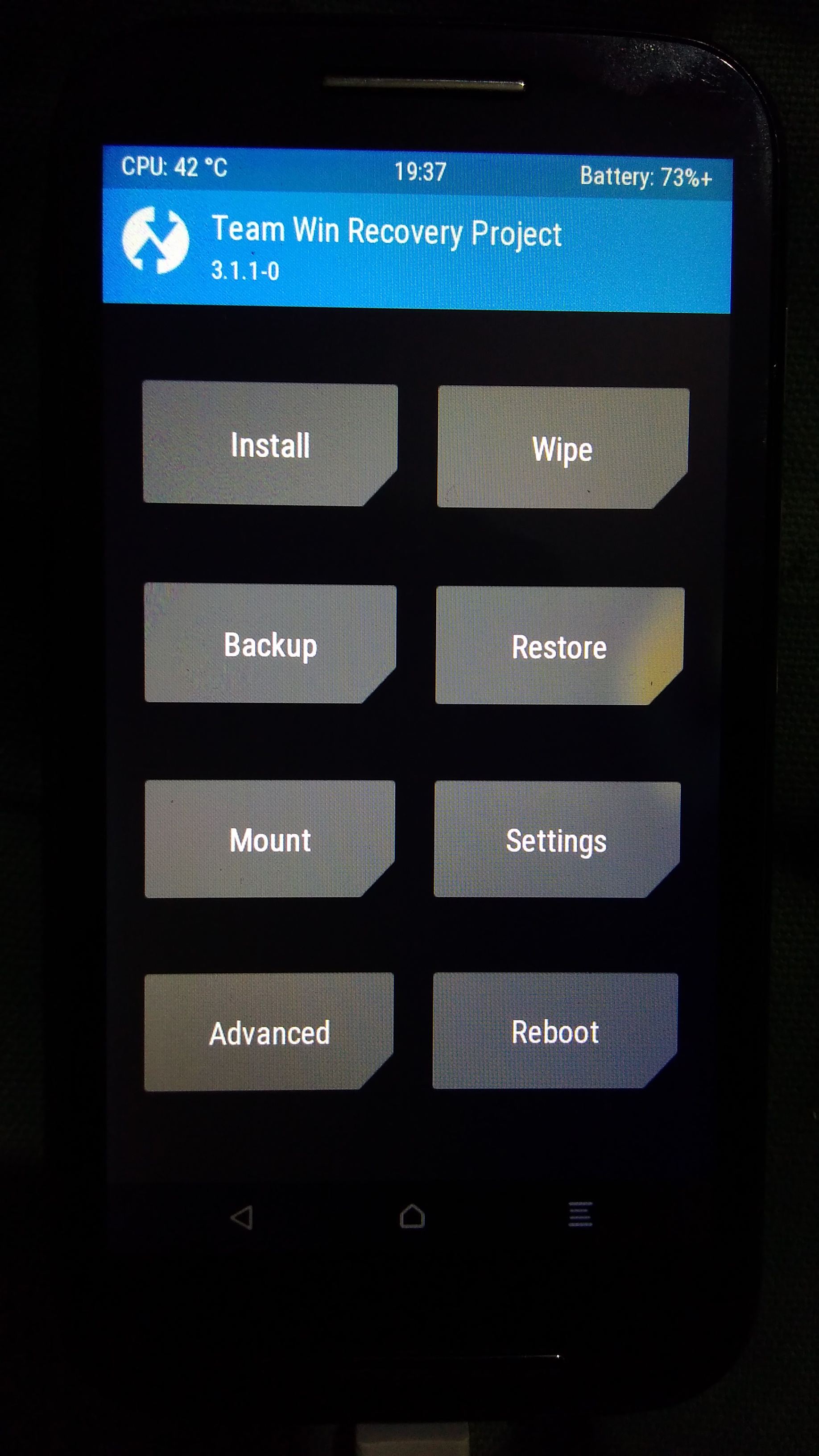 TWRP 3 0 2-0 build to 3 1 1-0 build time miscalculation on so many