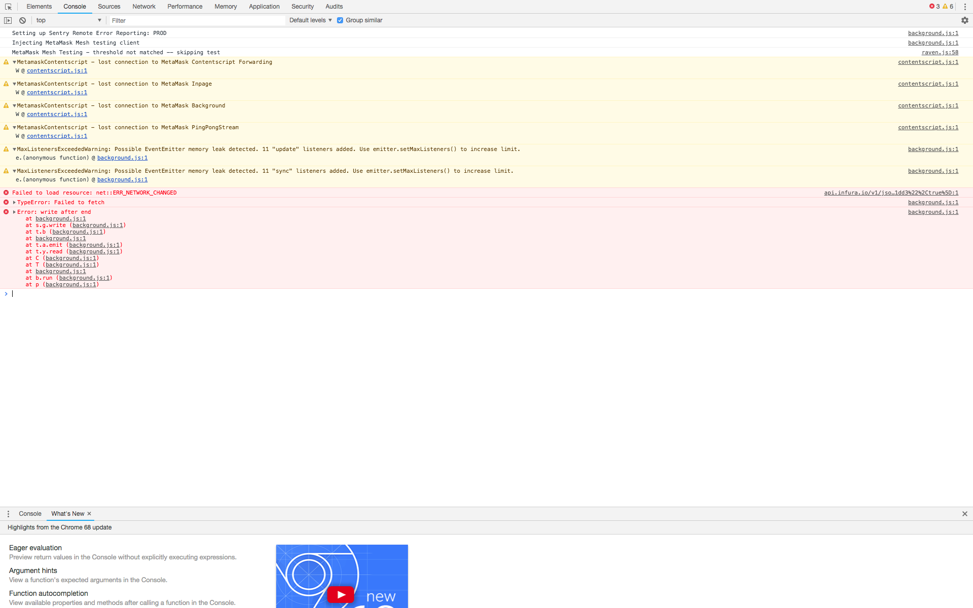Blank Extension Screen on Chrome · Issue #4894 · MetaMask