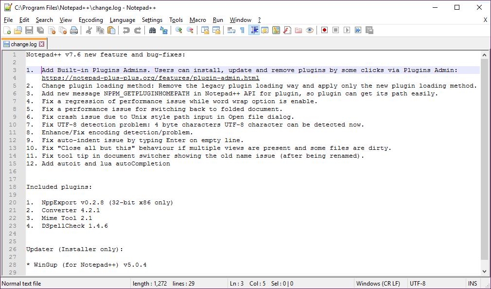 no plugin menu anymore · Issue #5076 · notepad-plus-plus/notepad