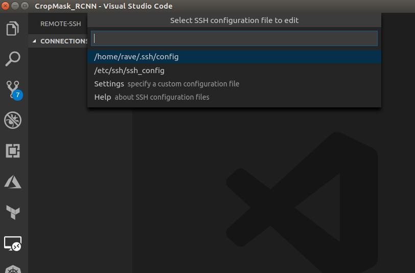 vscode ssh