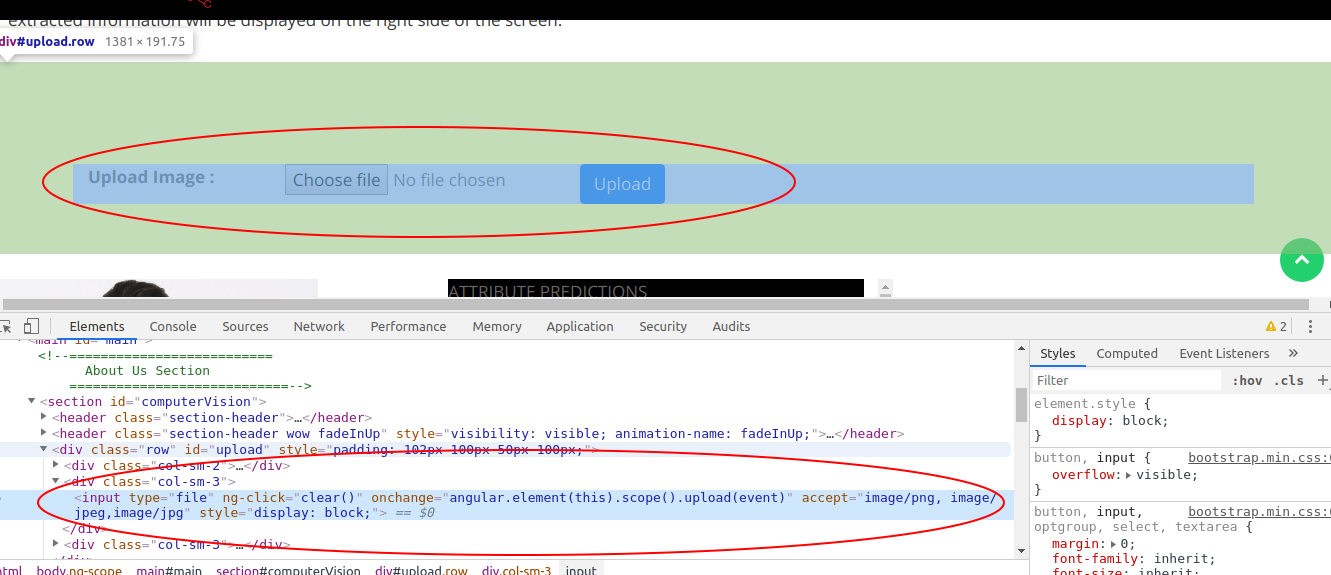Not working in bootstrap modal! · Issue #511 · danialfarid/ng-file