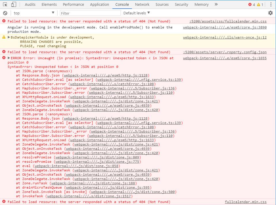 Not able to access json files inside assets folder angular 5