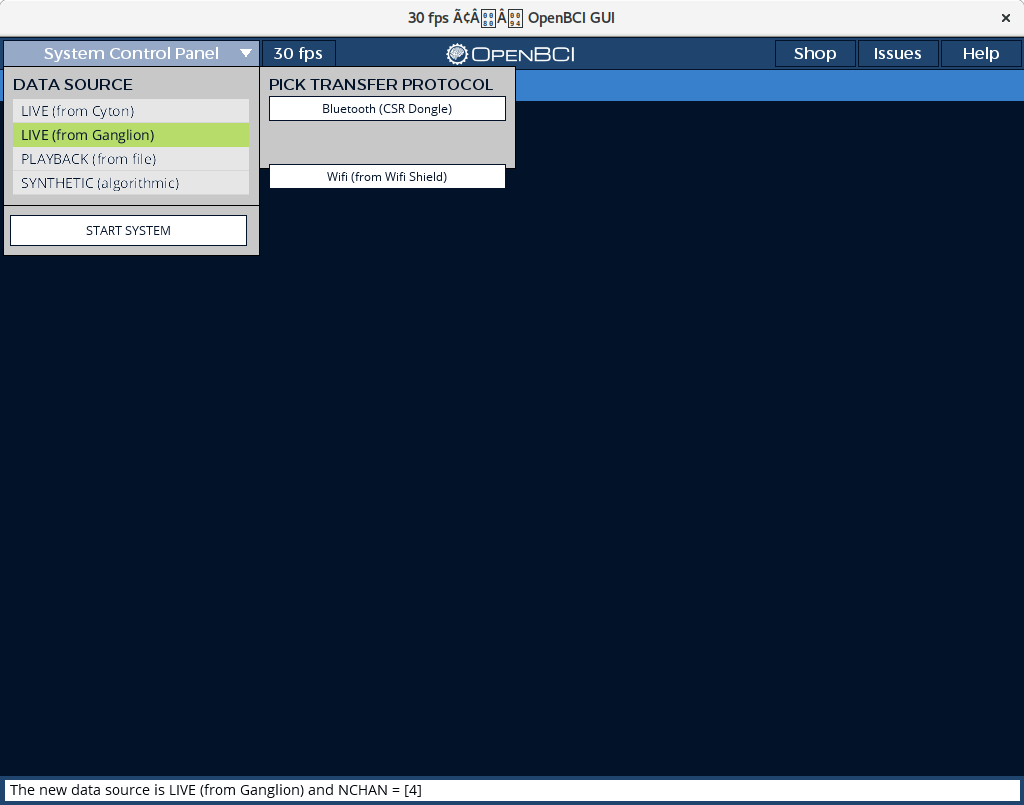 OpenBCI_GUI v3 3 0 freezes at first click · Issue #331