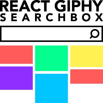 React Giphy Searchbox Logo