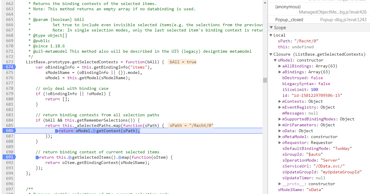 Table)SelectDialog not working with OData v4 · Issue #1616