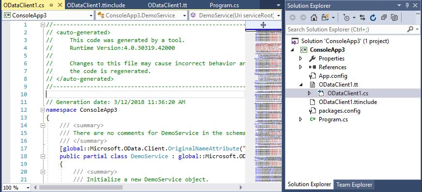 Microsoft OData Client 7 0 · Issue #731 · OData/odata net