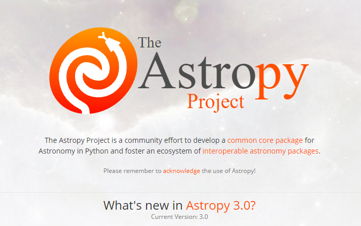 The Astropy Project