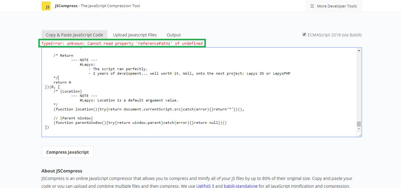 Javascript Compress File Before Upload