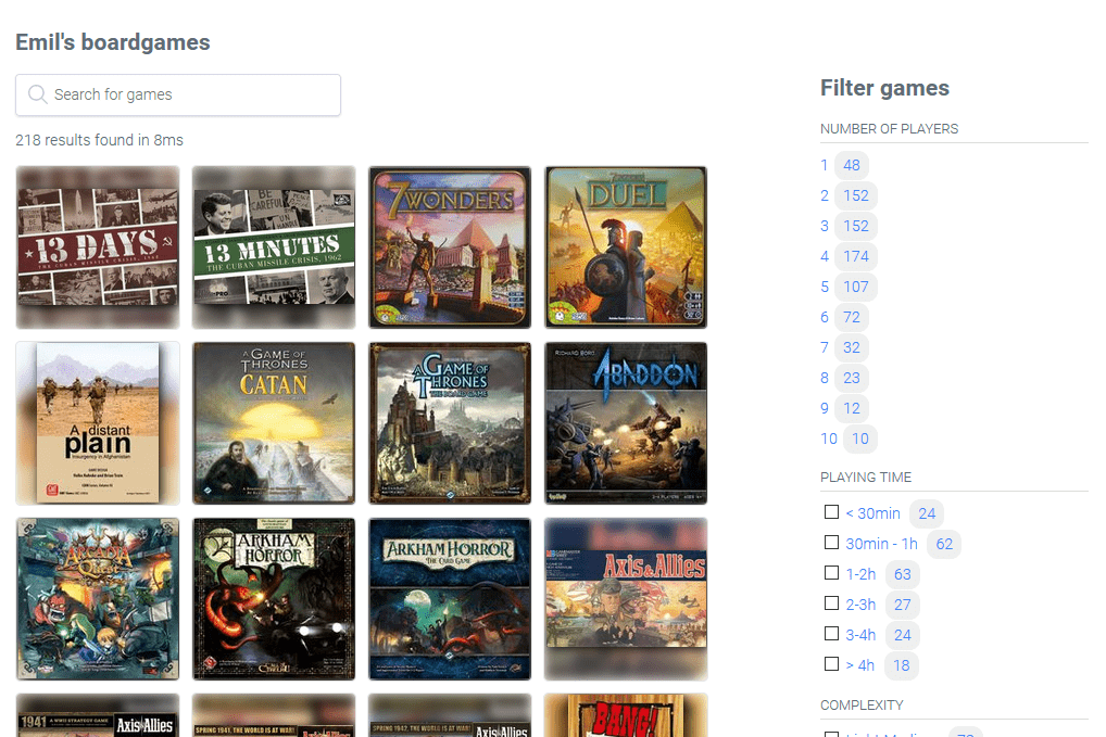 Is There A Way To Change Back To The Old Board Game Backgrounds Issue 27 Emilstenstrom Mybgg Github