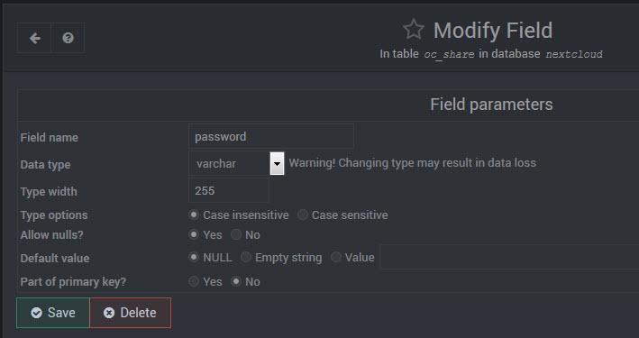 nextcloud_oc_share additional db field
