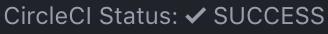 Latest build status on status bar
