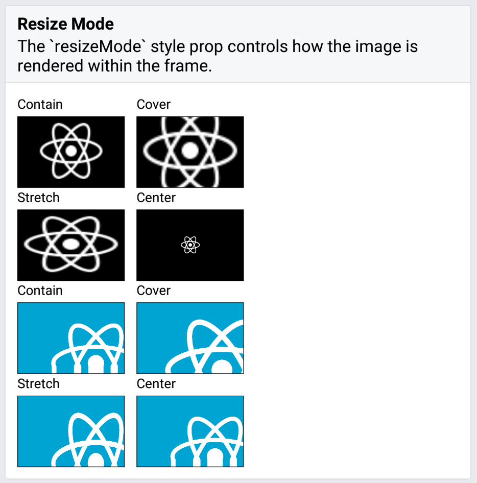 Image Resizemodes Contain Center Render Incorrectly On Android Issue 17684 Facebook React Native Github