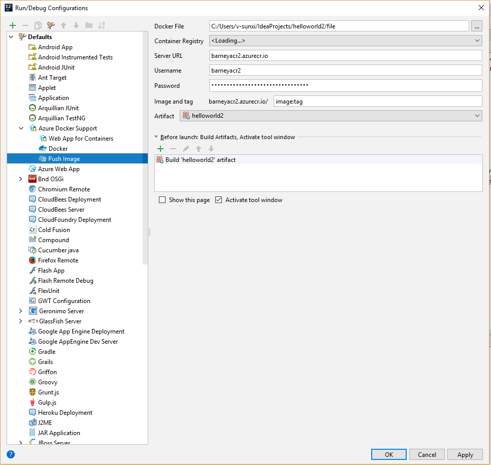 IntelliJ]Can't save default run configuration · Issue #1126