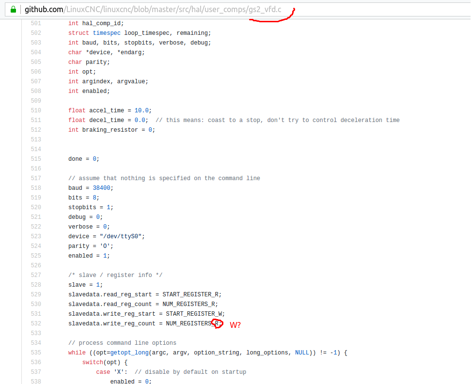 src/hal/user_comps/gs2_vfd c · Issue #506 · LinuxCNC/linuxcnc · GitHub