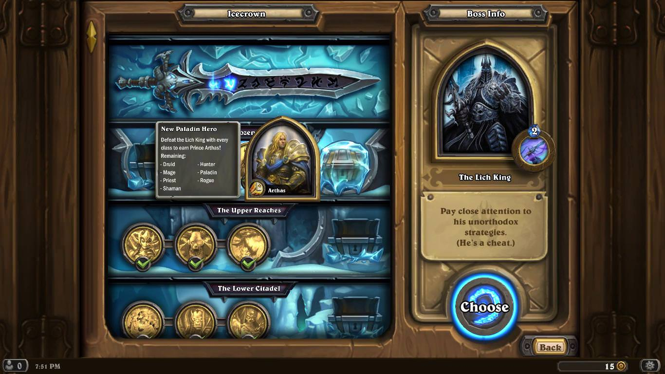 Whizbang decks remember the class used to create the deck