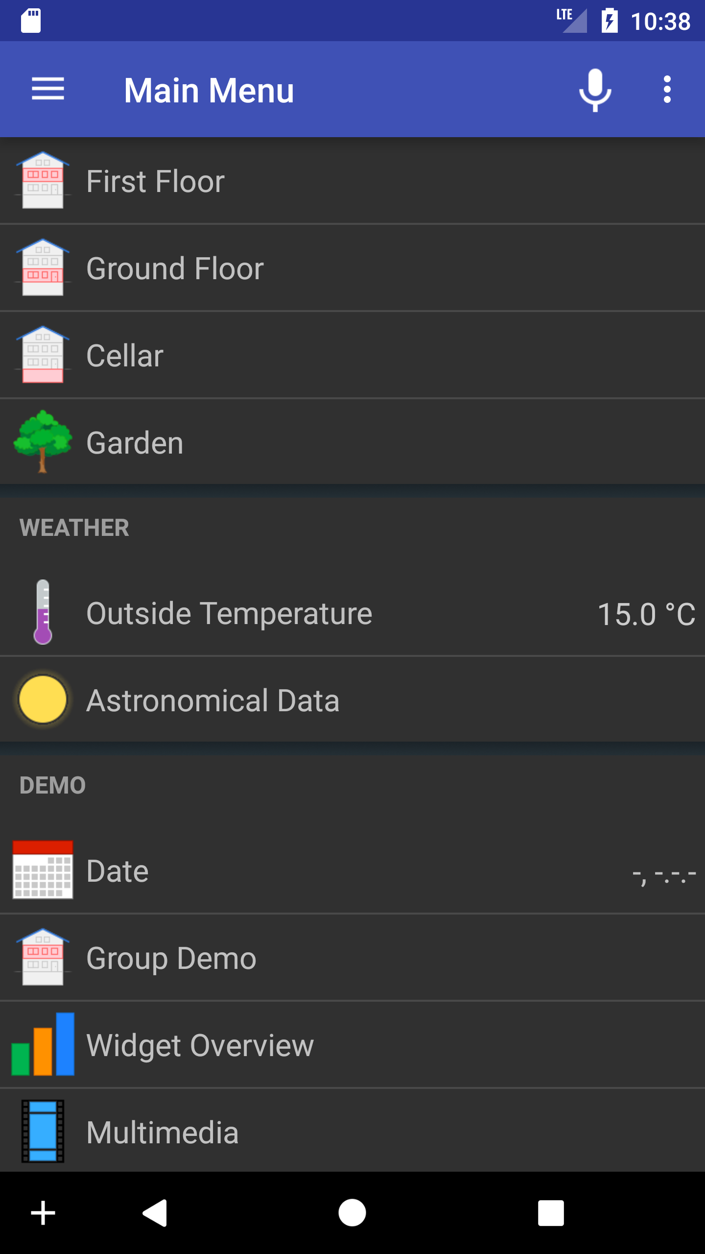 Basic ui like themes for Android App - Android App - openHAB Community