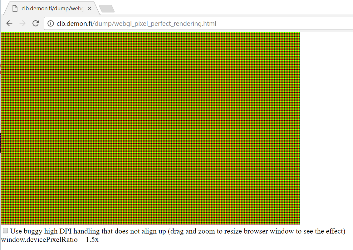 CSS pixel size -> WebGL canvas size example is subtly wrong? · Issue