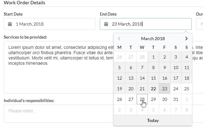 Semantic-UI-Calendar - Bountysource