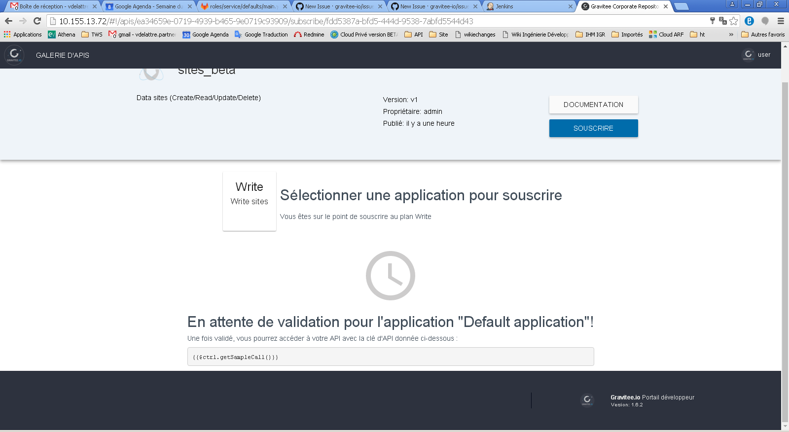 portal] error on user subscription · Issue #632 · gravitee