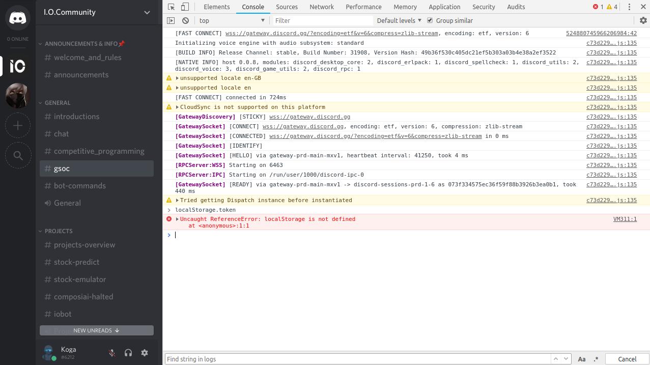 Discord Token · Issue #847 · discordapp/discord-api-docs · GitHub