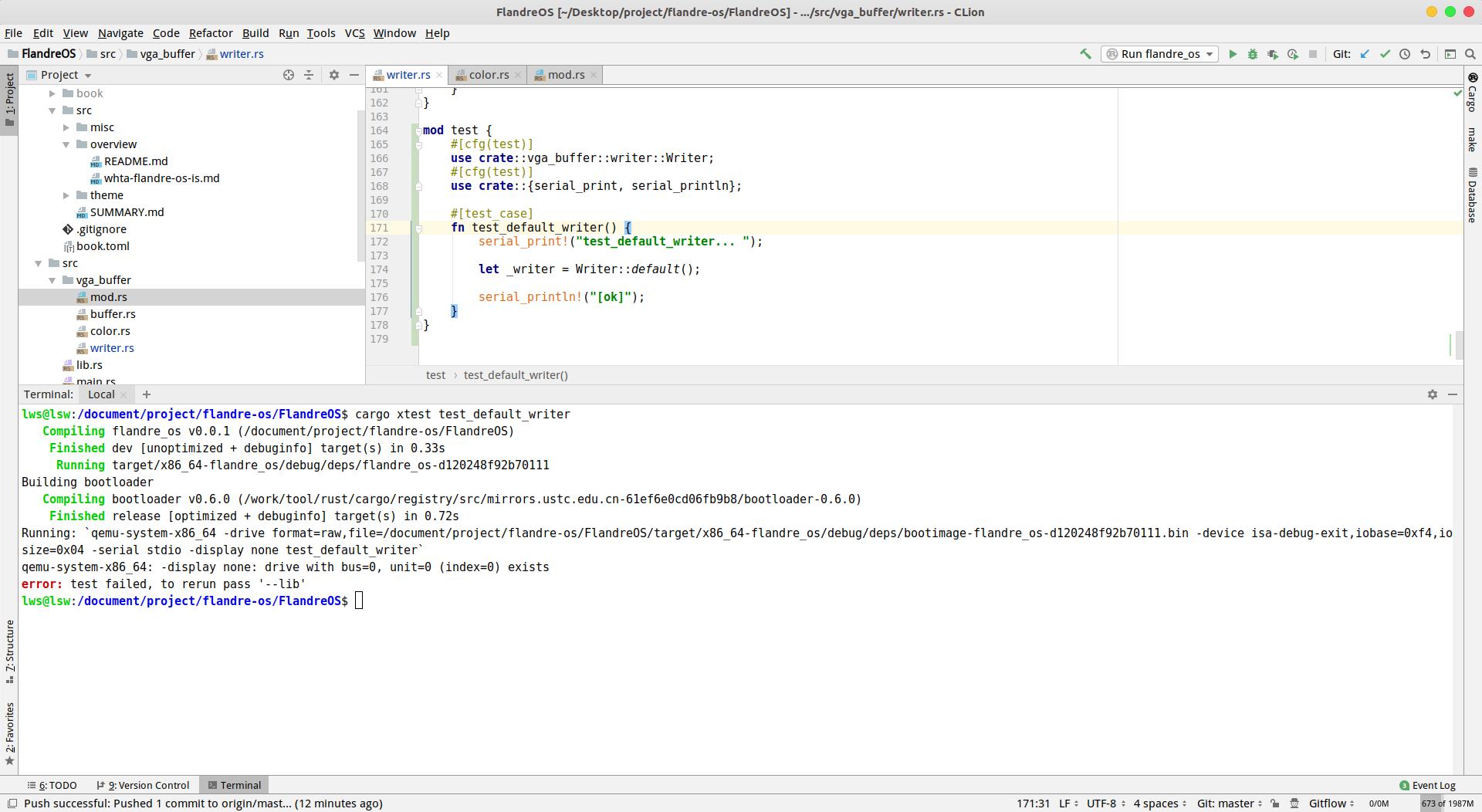 Testing | Writing an OS in Rust