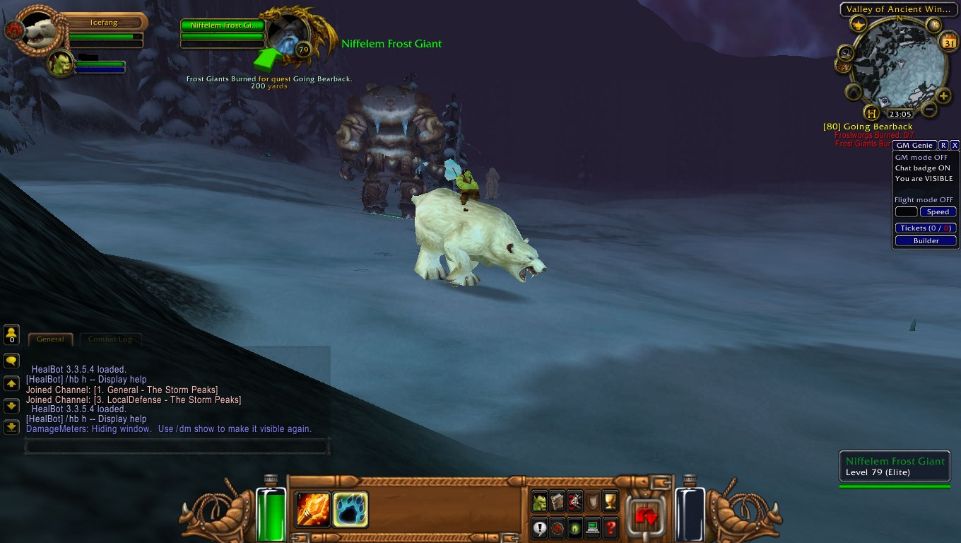 QUEST] Going Bearback · Issue #695 · azerothcore/azerothcore