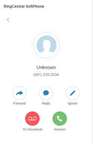 Caller ID showing Unknown · Issue #77 · ringcentral/ringcentral