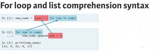 2  List comprehensions and genera · upalr/Python-camp Wiki