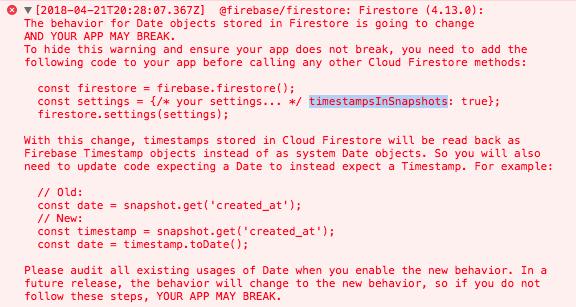 FireStore timestampsInSnapshots · Issue #1575 · angular/angularfire2