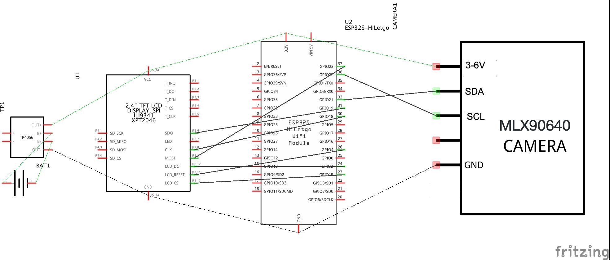 display is just black · Issue #3 · netzbasteln/MLX90640